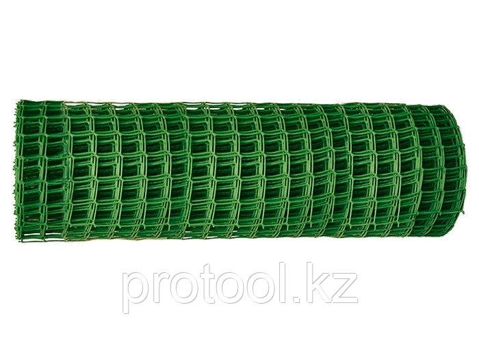 Заборная решётка в рулоне 1,2х20 м ячейка 40х40 мм // Россия
