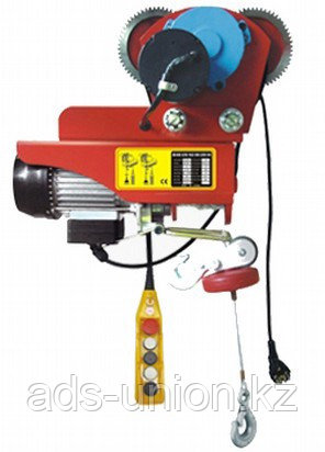 Таль электрическая с тележкой РА гп 600/1200 кг (H= 12/6 м). КНР, фото 2