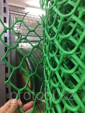 Заборная решетка в рулоне 1,5х25 м ячейка 55х55 мм // Россия, фото 2