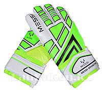 Перчатки вратарские футбольные (зеленые)