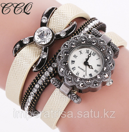 """Часы браслет """"Императрица"""" Beige"""