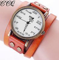 "Часы унисекс ""Пифагор"" Orange"