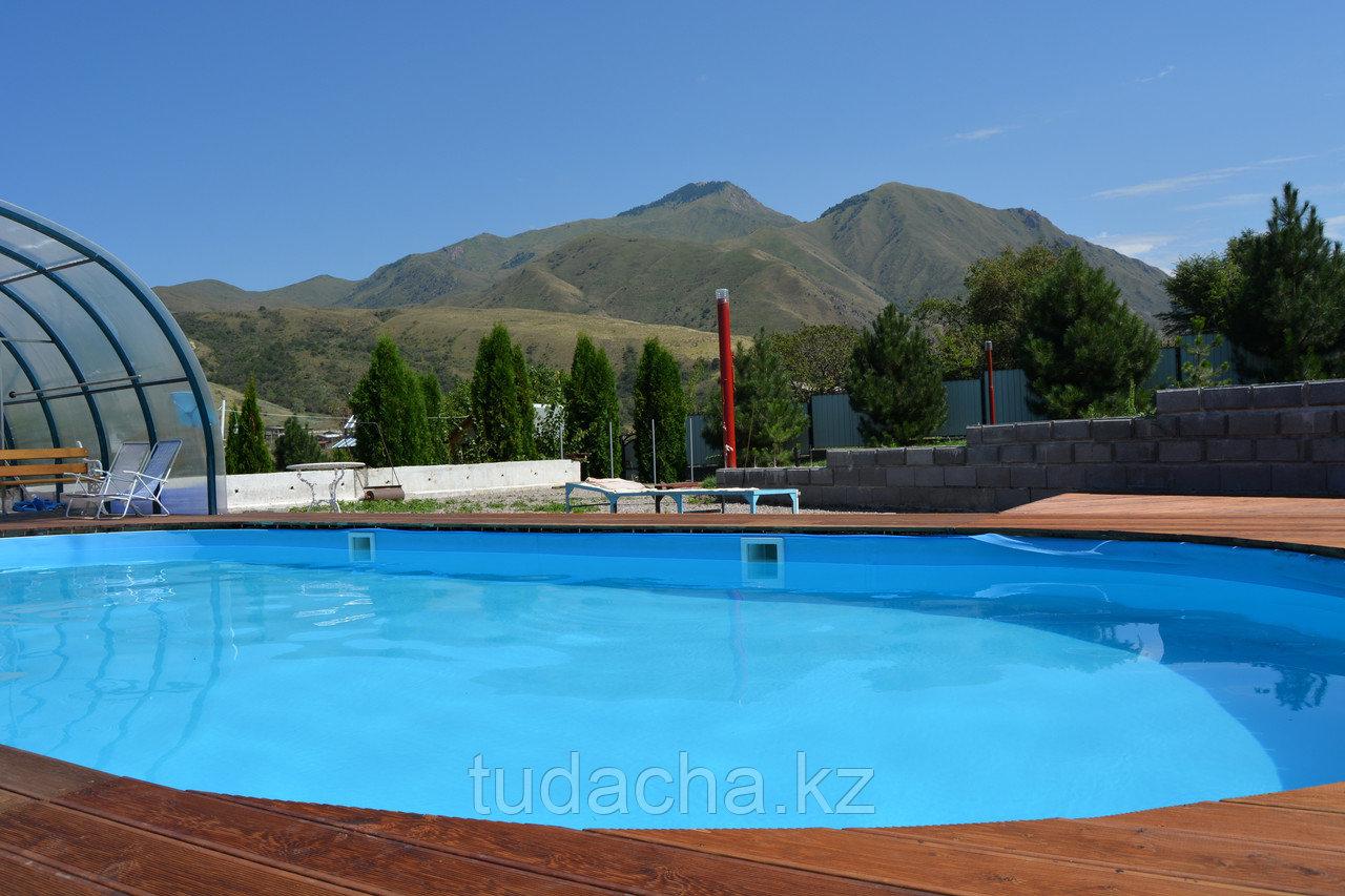 Сезонный открытый бассейн с подогревом (май-сентябрь)
