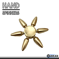 Спиннер, EDC Tri-Spinner Bullet Fidge (Разборный), фото 1
