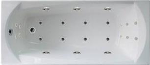 Гидромассажная ванна. Элеганс 160*70 ИНТЕНС (Общий  массаж + массаж спины + массаж ног + массаж дна), фото 2