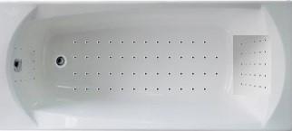 Гидромассажная ванна. Элеганс НАНО 170*70 (Общий  6 форсунок, спина 30,ноги 20,дно 50 наноджетов)
