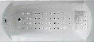 Акриловая гидромассажна. Элеганс НАНО 150*70 (Общий  6 форсунок, спина 30,ноги 20,дно 50 наноджетов), фото 2