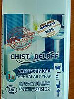 Средство для туалетной комнаты WC gel  1л