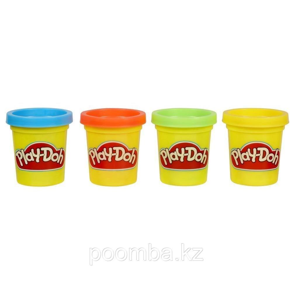 Набор из 4 мини-баночек для лепки Play-Doh
