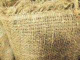 Ткань упаковочная, мешковина джут/лен, плотность 220гр/кв.м, ширина 110см
