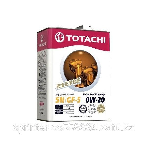 Моторное масло Totachi Extra Fuel Economy 0w20 4 литра