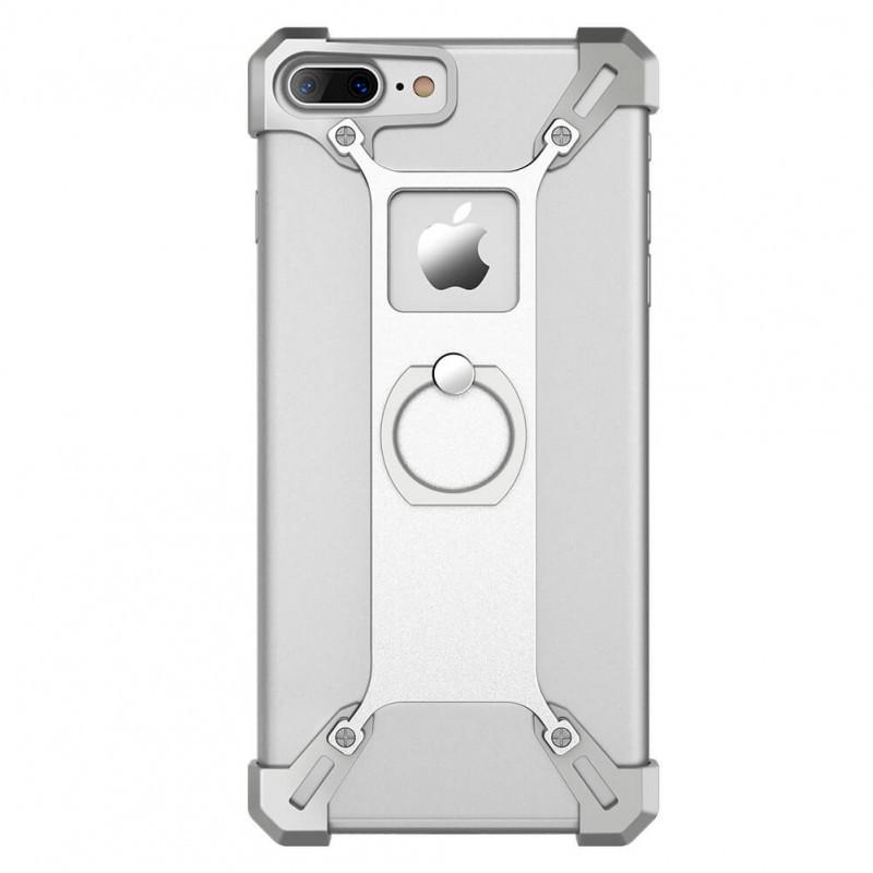 Защитный чехол бампер Barde border для iPhone 7 Plus (белый)
