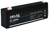 Батарея аккумуляторная 12В 2.2А.ч Delta DT 12022