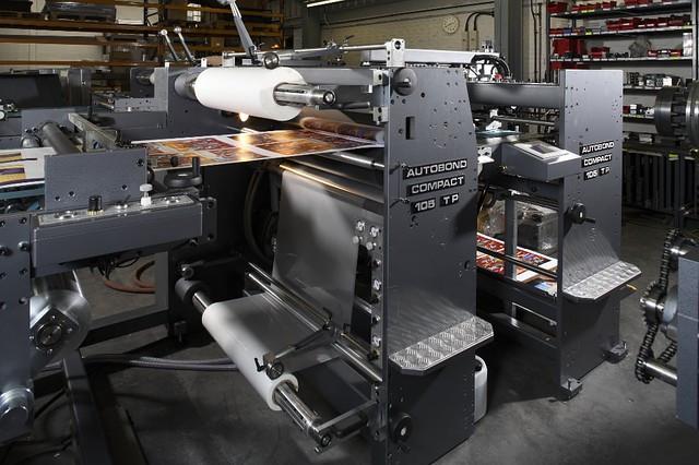 Ламинатор AUTOBOND Compact 105 TH с высокостапельным самонакладом