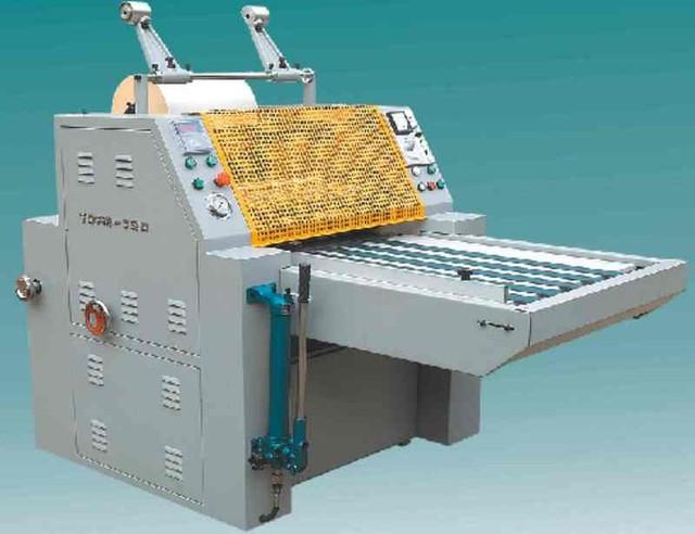 Гидравлический рулонный ламинатор YDFM-720