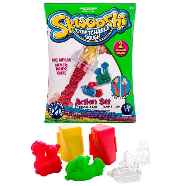 Набор для творчества  Skwooshi c формочками и массой для лепки