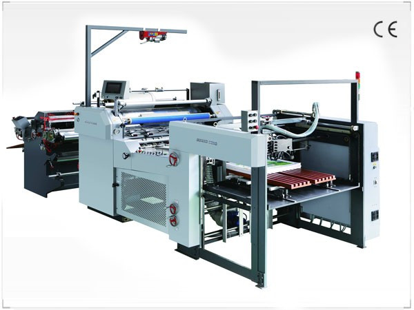 Guangming SWDFM-1100 - автоматический рулонный ламинатор