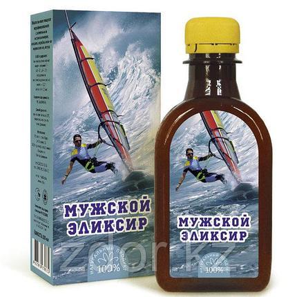 """""""Мужской эликсир"""" - масло льняное с экстрактом киперея, амаранта , фото 2"""