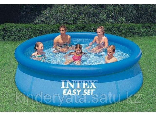 Надувной бассейн INTEX Easy Set Pool, 396 х 84 см