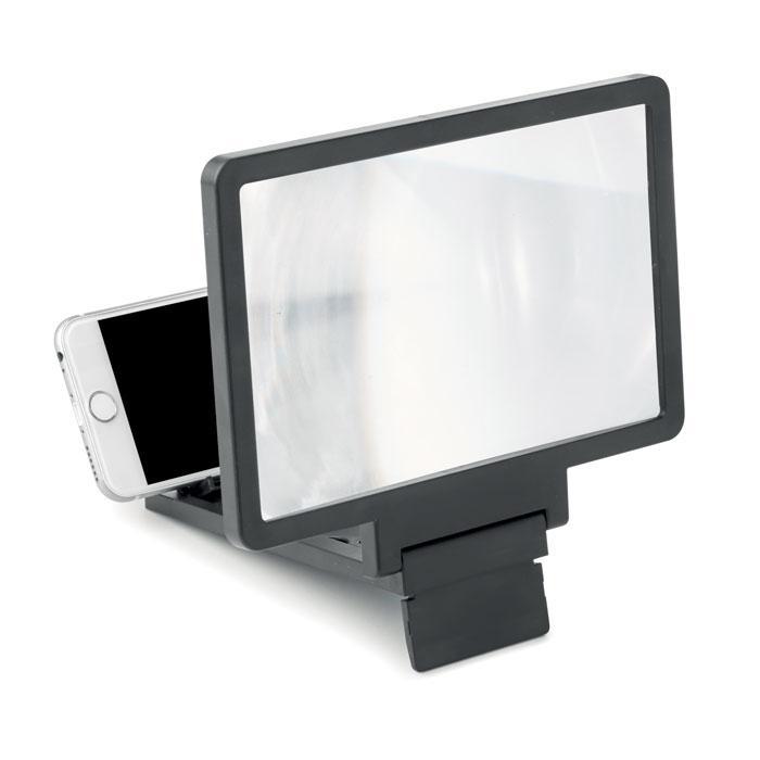 Экранная 2х кратная лупа для телефона