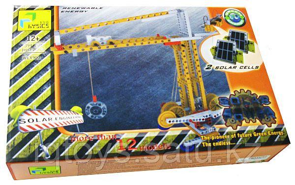Конструктор Physics на солнечных батареях - 394 детали, более 12 моделей