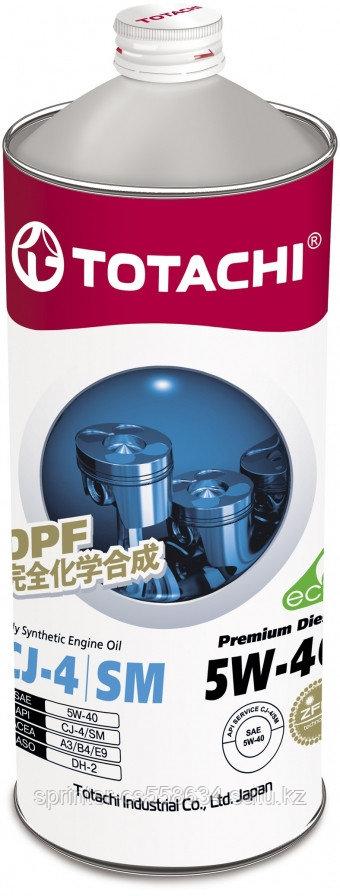 Моторное масло Totachi Premium Diesel 5W-40 1 литр