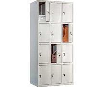 Шкаф металлический для гардероба LS-34
