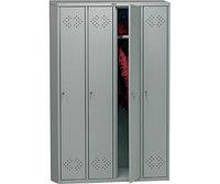 Шкаф металлический для гардероба LS-41