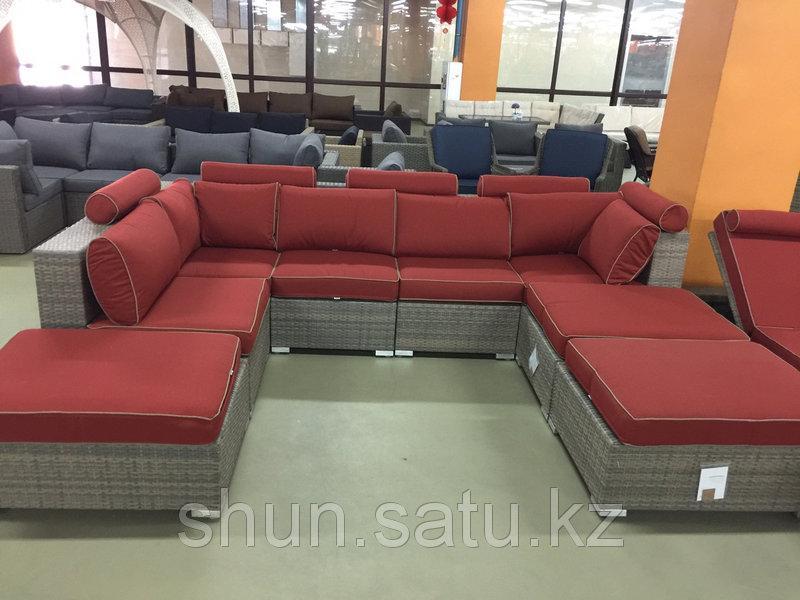 Комплект мебели диван шезлонг l
