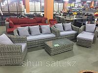 Комплект диван софа два кресла столик , фото 1