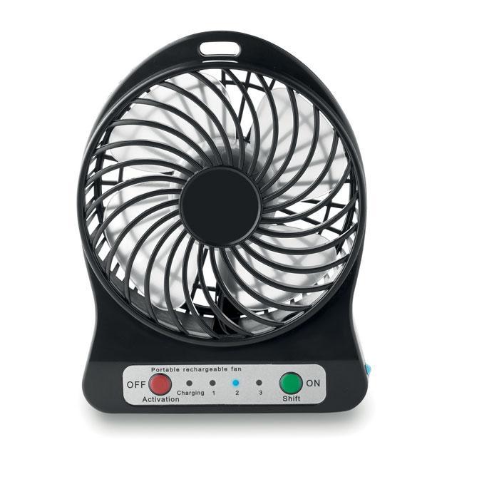 Настольный пластиковый вентилятор