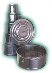 Коробки стерилизационные круглые с фильтрами КСКФ
