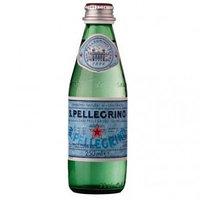 San Pellegrino минеральная вода 0,25л, стекло, 24 шт