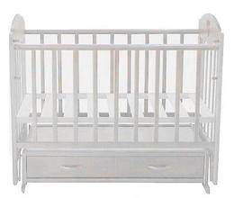 Кроватка детская Ведрусс Иришка-3 Белая