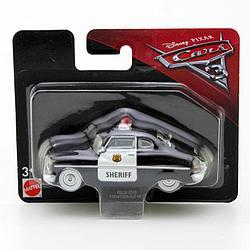 """Cars / Тачки """"Тачки 3"""" Пластиковая модель Шериф, 8 см."""