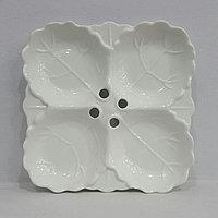 Тарелка на 4 секции №10            (25 см)