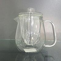 Чайник стеклянный с стеклянной стекой 0,5 л