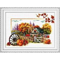 """Набор для вышивания крестом """"Осенняя тропинка"""""""