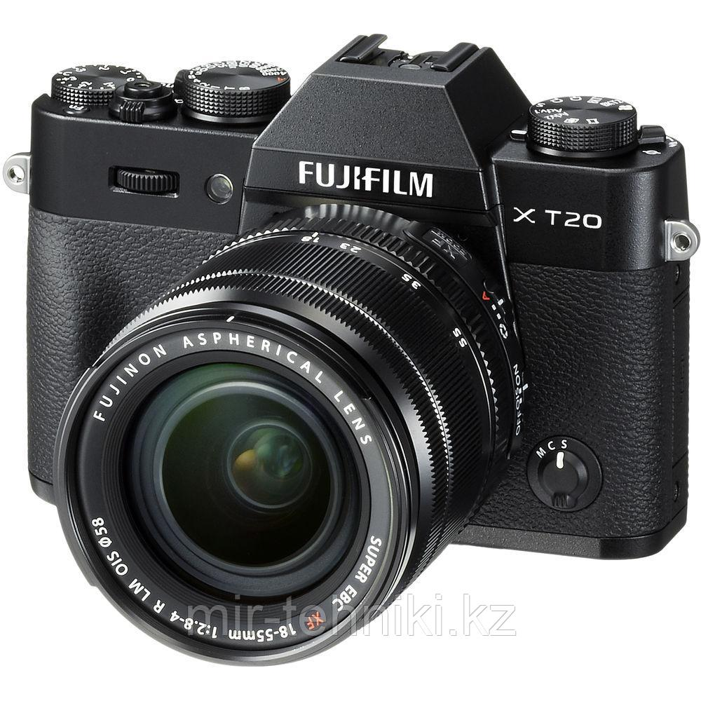 Fujifilm X-T20 kit (18-55mm f/2.8-4 R LM OIS) Black