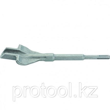 Зубило канальное с опорами, 14 х 22 х 250 мм, SDS PLUS// MATRIX, фото 2