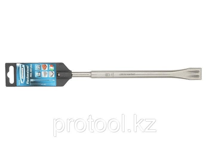Зубило плоское 20 х 250мм, PRO, SDS PLUS // GROSS