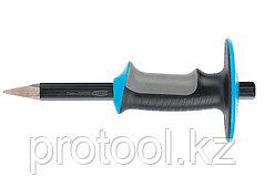 Зубило-керн, 254 мм, трехкомп. эргоном. рук-ка, защитный протектор,антикорроз.покрыт.//GROSS