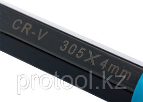 Зубило-керн, 305 мм, трехкомп. эргоном. рук-ка, защитный протектор,антикорроз.покрыт.//GROSS, фото 2