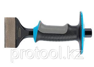 Зубило-конопатка, 215х70 мм, трехкомпон. эргоном. рук-ка,защитный протектор,антикорроз.покр.//GROSS, фото 2