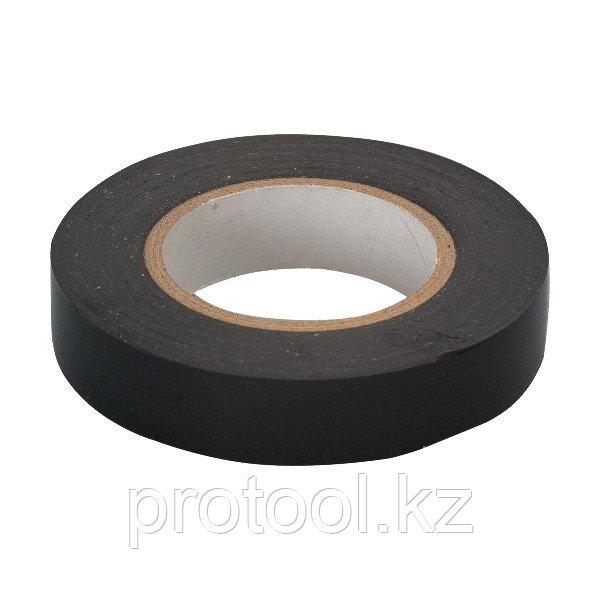 Изолента ПВХ, 15 мм х 10 м, черная  // СИБРТЕХ