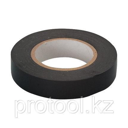 Изолента ПВХ, 15 мм х 10 м, черная  // СИБРТЕХ, фото 2