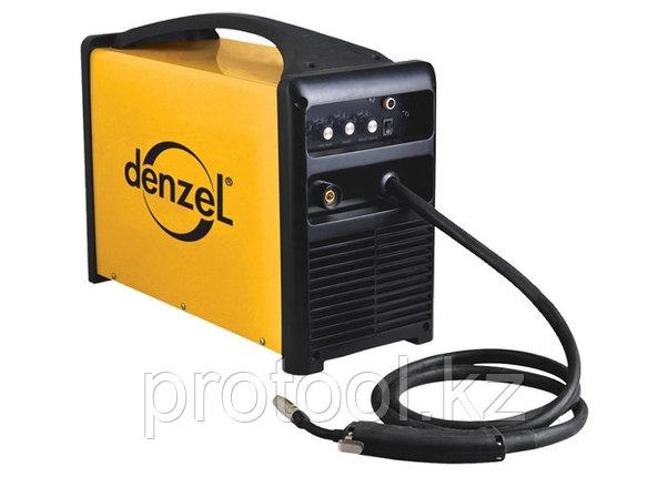 Инверторная сварка тип MIG MAG MIG-160PI, 160А, ПВР 60%, диам. 0,6-0,8 мм//Denzel, фото 2