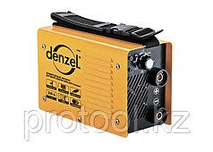 Инверторный аппарат дуговой сварки ММА-200 Compact, 200 А, ПВР 60%, диам. 1,6-5 мм// Denzel