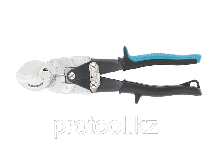 """Кабелерез """"PIRANHA"""", 240мм, двухкомпонентные рукоятки, диаметр кабеля до 14мм,сечение 14мм2 //GROSS"""