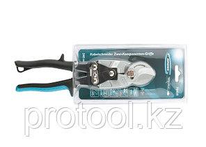 Кабелерез, диэлектрические рукоятки до 1000 В, трехкомпонентные рукоятки, 160 мм// GROSS, фото 2